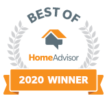 Best of HomeAdvisor 2020 Award Winner