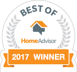 Best of HomeAdvisor 2017 Award Winner